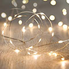Features:  Decorate your life and home with this String Lights, it can give you a magical lighting experience for your home, party or business! Easy to shape:The led string lights can be easily bended, and shaped , it can satisfy your differe...