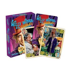 Willy Wonka and The Chocolate Factory Playing Cards by Aquarius