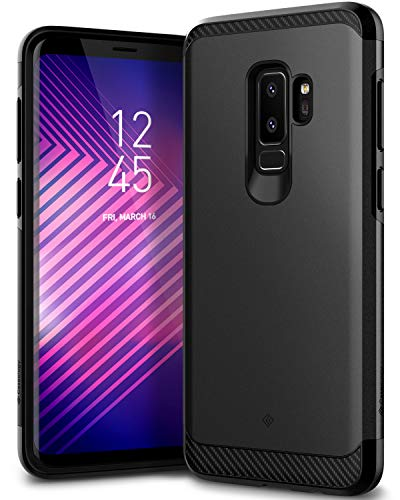 Caseology [Legion Series] Galaxy S9 Plus Case - [Reinforced Protection] - Black