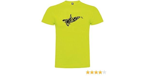 Camiseta Buceo Orca Tribal Manga Corta Hombre Pistacho 3XL: Amazon ...