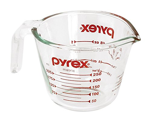 Pyrex Prepware 1 Cup Glass Measuring