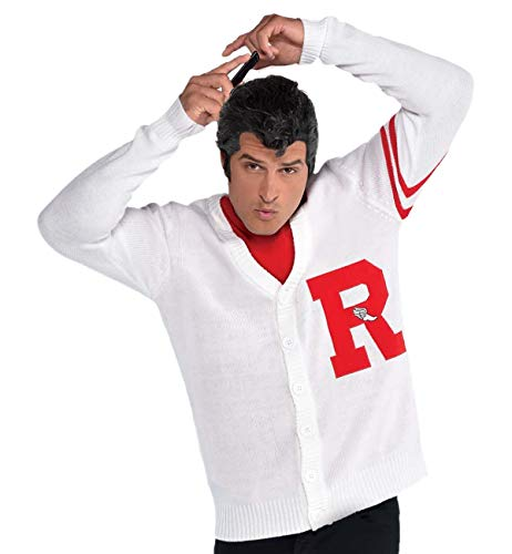 SUIT YOURSELF Mens Grease Rydell Letterman Sweater