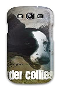 New Dog Murals Tpu Case Cover, Anti-scratch AnnDavidson Phone Case For Galaxy S3