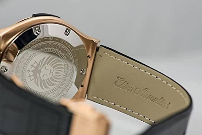 Elico Assoulini SU75982 Doppio Men s Luxury Wrist Watch – Japanese Quartz Chronograph – 52mm Case Size