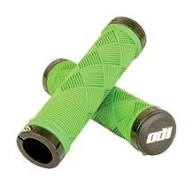 ODI Cross Trainer Lock-On Grip - Bonus Pack Lime Green, 130mm by Odi