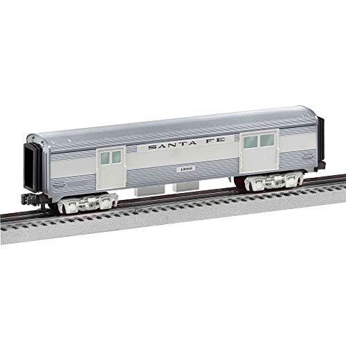 Train Cars Gauge - Lionel Santa Fe, Electric O Gauge Model Train Cars, Add-On Baggage