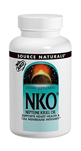 Source Naturals NKO Neptune Krill Oil, Supports Heart Health & Cell Membrane Integrity - 30 Softgels