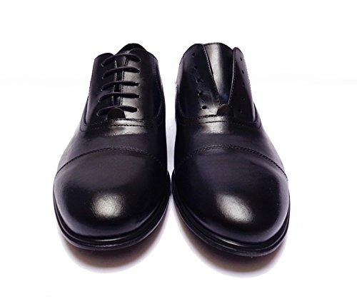 Cuir Homme Antica Cuoieria Chaussures À Porter Consenza Lacets Bas En Caoutchouc Lumière Num.