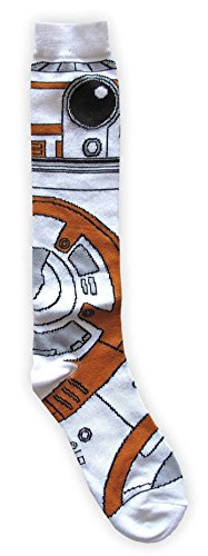 Star Wars BB-8 Costume Suit Up Junior/Women's Socks Shoe Size (Junior High Costumes)