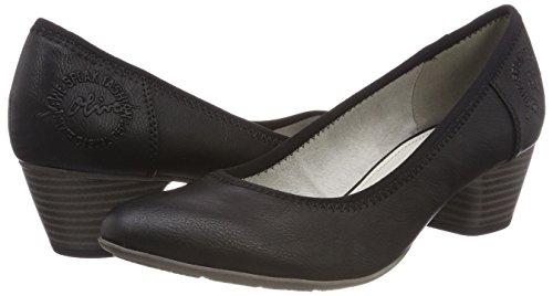 S 22301 toe Women''s Black Closed oliver Pumps x88q0nwz7