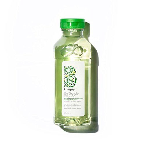 Briogeo Be gentle, be kind matcha + apple replenishing superfood shampoo, 12.5 Ounce