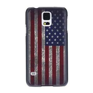 WEV America National Flag Pattern Back Case for Samsung S5/i9600