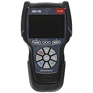 Innova 5160 Pro CarScan Code Reader/Scan Tool with Network Scan, Steering Angle Reset & Electronic Parking Brake Assist