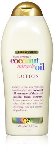 Price comparison product image OGX Extra Creamy + Coconut Miracle Oil Ultra Moisture Lotion, 19.5 Ounce