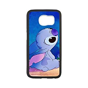 Disneys Lilo And Stitch Samsung Galaxy S6 Cell Phone Case Black Gift pjz003_3402904