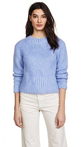 Rachel Comey Women's Recline Pullover, Silver Blue, X-Small