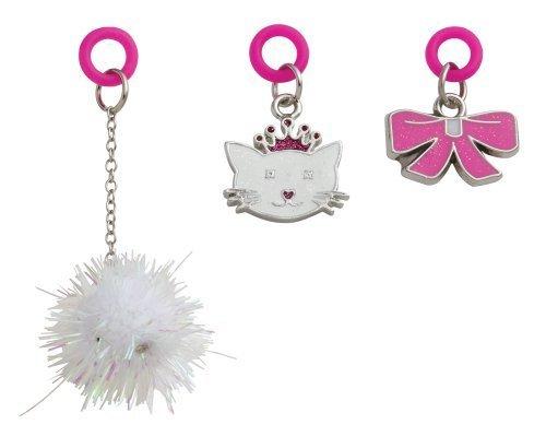 Three Cheers for Girls Girls Girls Happy Charmz Pretty Kitty Trio Set by Three Cheers for Girls 826703