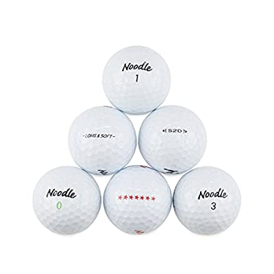 TaylorMade Noodle Recycled Golf Balls Mix (Pack of 50) by LostGolfBalls.com LLC