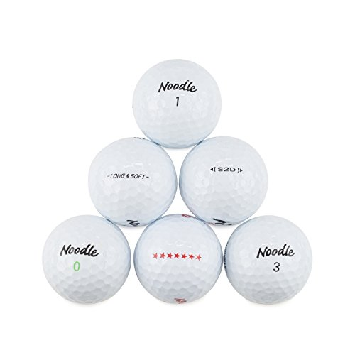 TaylorMade Noodle Recycled Golf Balls Mix (Pack of 50)
