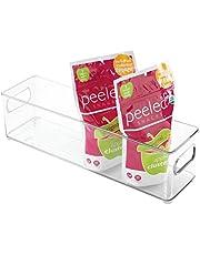 InterDesign Refrigerator and Freezer Storage Organizer Bin for Kitchen