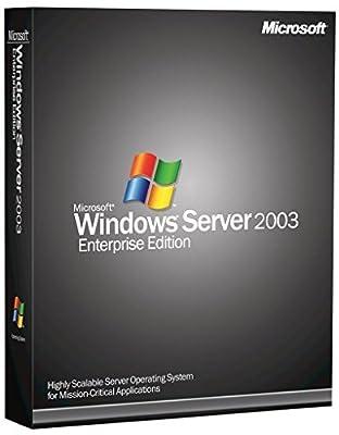 Microsoft Windows Server 2003 Enterprise Edition [CD-ROM] Windows