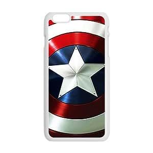 Captain American fashion plastic phone case for iPhone 6 plus