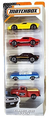 Matchbox, 2015 Classic Ride 5-Pack 1970 Chevelle Ss Convertible