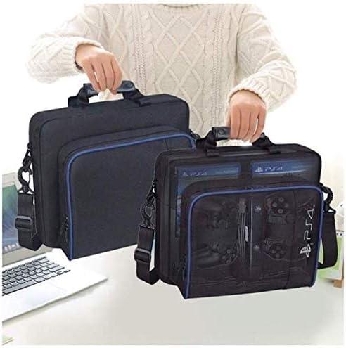 MOTOULAX PS4 Funda de transporte, bolsa de hombro protectora, bolsa de mano, mochila universal para videojuegos, portátil, bolsa de hombro, para Playstation 4 Consola, bolsa de hombro: Amazon.es: Equipaje