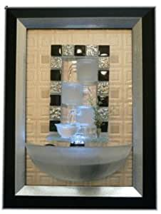 Indoor Wall Water Fountain in Picture Frame with LED 3d Effect