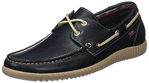 9 Scarpe Uomo CALLAGHAN Blue 11300 da Barca Blu qHwS05