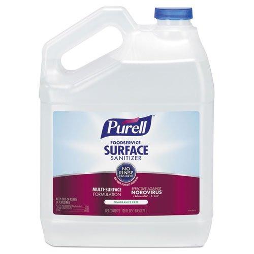 Food Surface Sanitizer - Foodservice Surface Sanitizer, Fragrance free , 1 gal Bottle