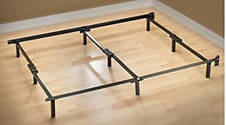Amazoncom Zinus Compack Adjustable Steel Bed Frame for Box
