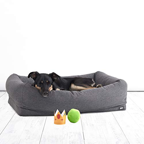 dog bed removable cover large - 5