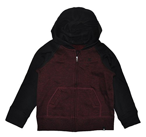 Hurley Little Boys Valient Red Heather Hoodie (2T)