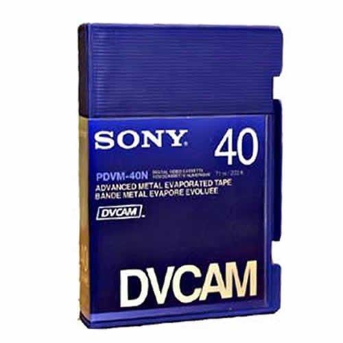 Sony PDV-40N DVCAM 40 Minute Tape (Non Chip) 10 Pack