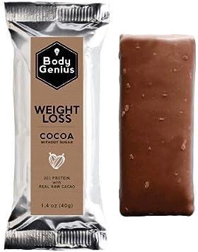 BODY GENIUS Weight Loss (Cocoa). 40gx13 barritas. Altas en ...
