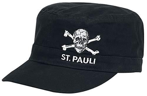 FC St. Pauli Army Skull Unisex Cap Black,