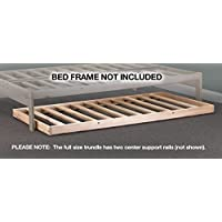 Roll-away Trundle Frame - Solid Hardwood (Twin)