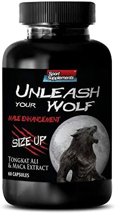 Male Enchantment Pills Size – Stamina Male Booster Unleash Your Wolf – to Increase Performance and Desire with Tongkat Ali Extract, Maca Extract 1 Bottle
