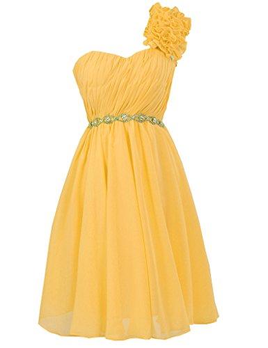 JAEDEN - Vestido - para mujer dorado