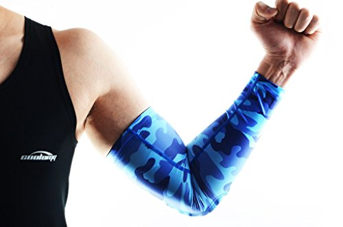 COOLOMG (Pair) Youth/Adult Padded Arm Sleeves Protector ...