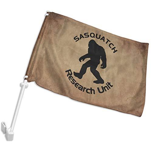 Sasquatch Research Unit Car Window Flags House Flags Yard Fl