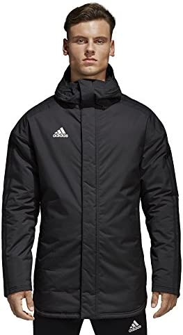 adidas Men's Soccer Condivo 18 Stadium Parka Jacket (Small