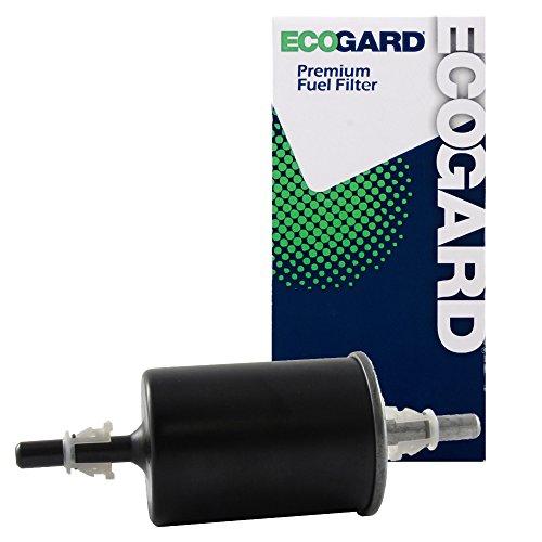 (ECOGARD XF64702 Engine Fuel Filter - Premium Replacement Fits Chevrolet Colorado, Express 1500, Express 3500, Express 2500, Caprice, Impala, Lumina APV, Corsica, Beretta/Cadillac DeVille,)