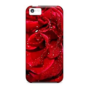 PC ConnieJCole Shockproof Scratcheproof Fresh Red Rose Hard Case For Samsung Galaxy S5 Cover