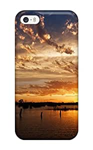 New Arrival Premium 5/5s Case Cover For Iphone (lake In The Sunset Light)