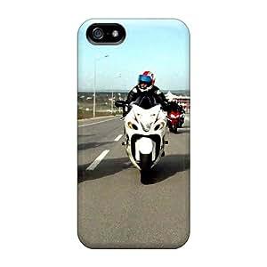CharlesPoirier Apple Iphone 5/5s Bumper Hard Phone Cases Provide Private Custom Stylish Hayabusa Image [fHR13165xbzf]