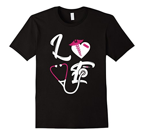 I Love Nurses T-shirt,Great Gift For Valentine's Day