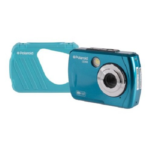 Polaroid Digital Camera with 2.4-Inch LCD, Teal (IX-001-TEAL)