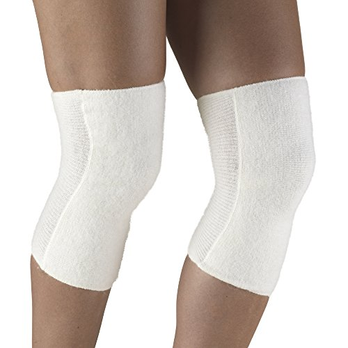OTC Knee Warmer Angora Arthritis Relief, White, X-Large